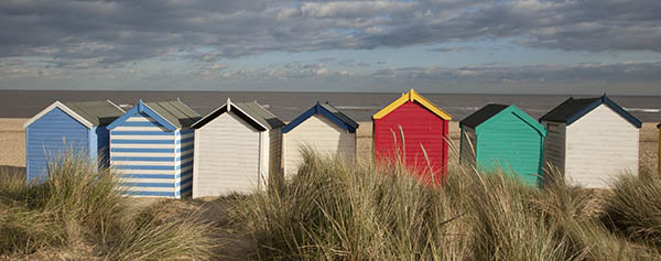 Rent a beach hut for the day