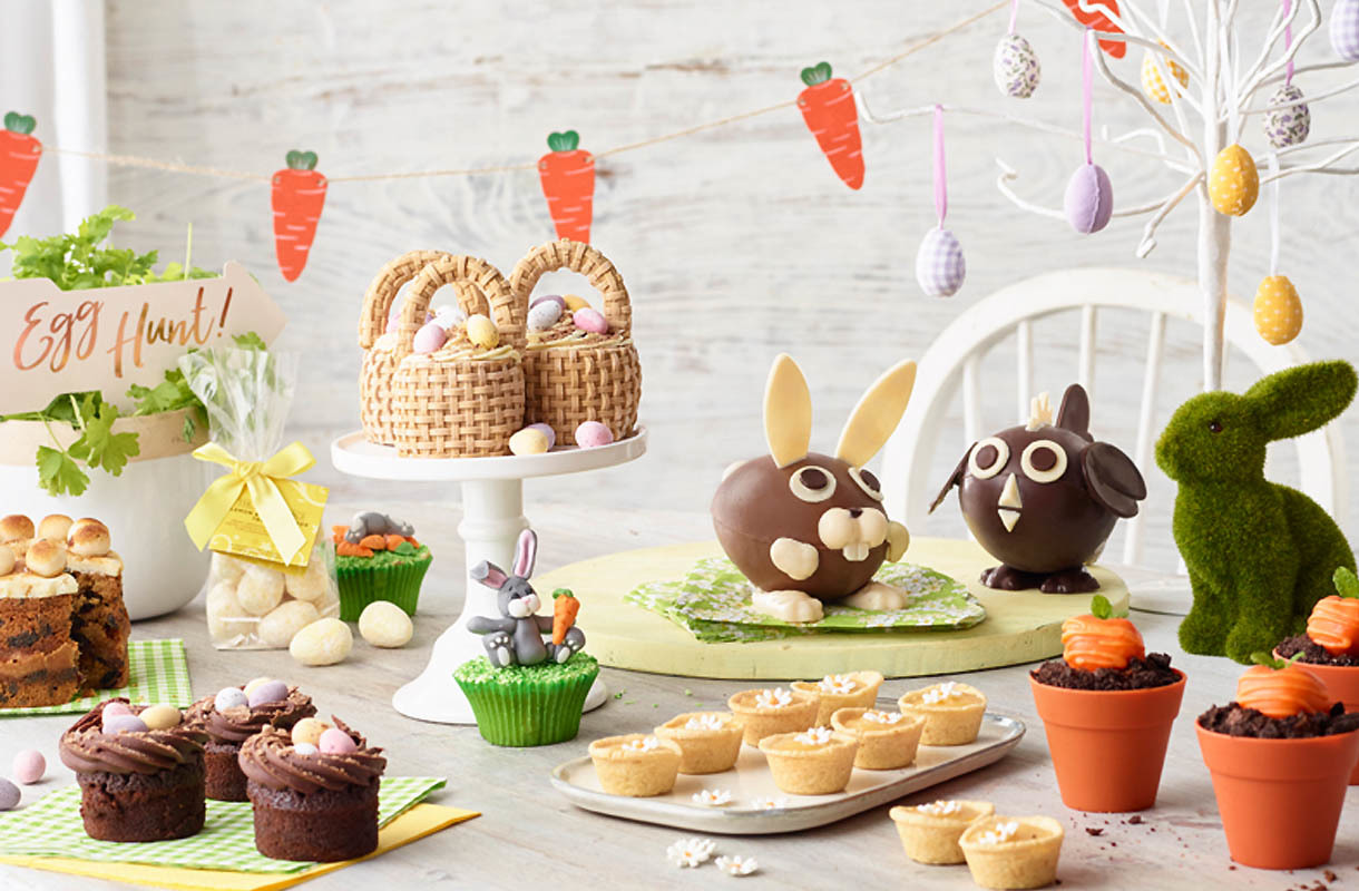 5. Easter Egg Hunts and Cake Decorating