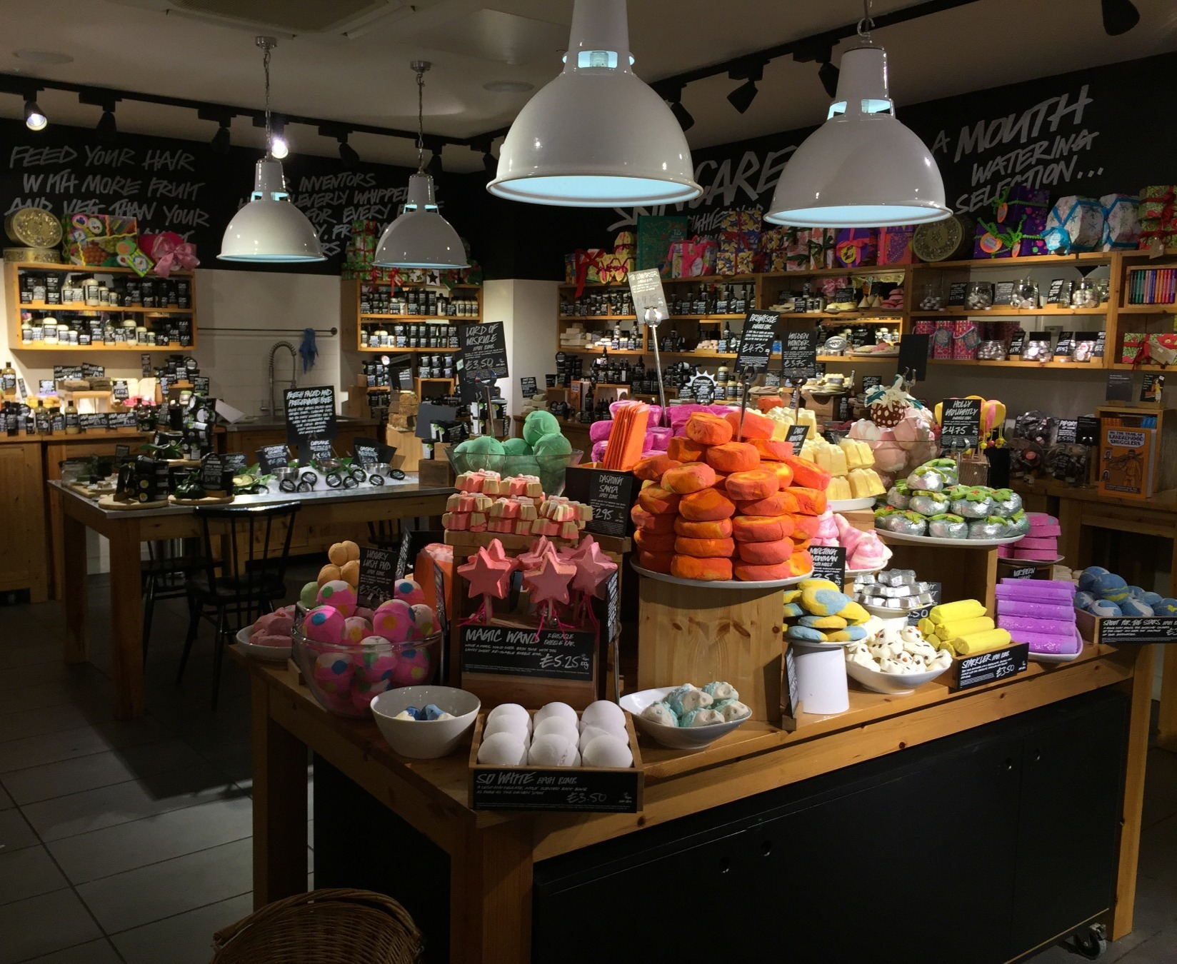 5. Go plastic free with Lush