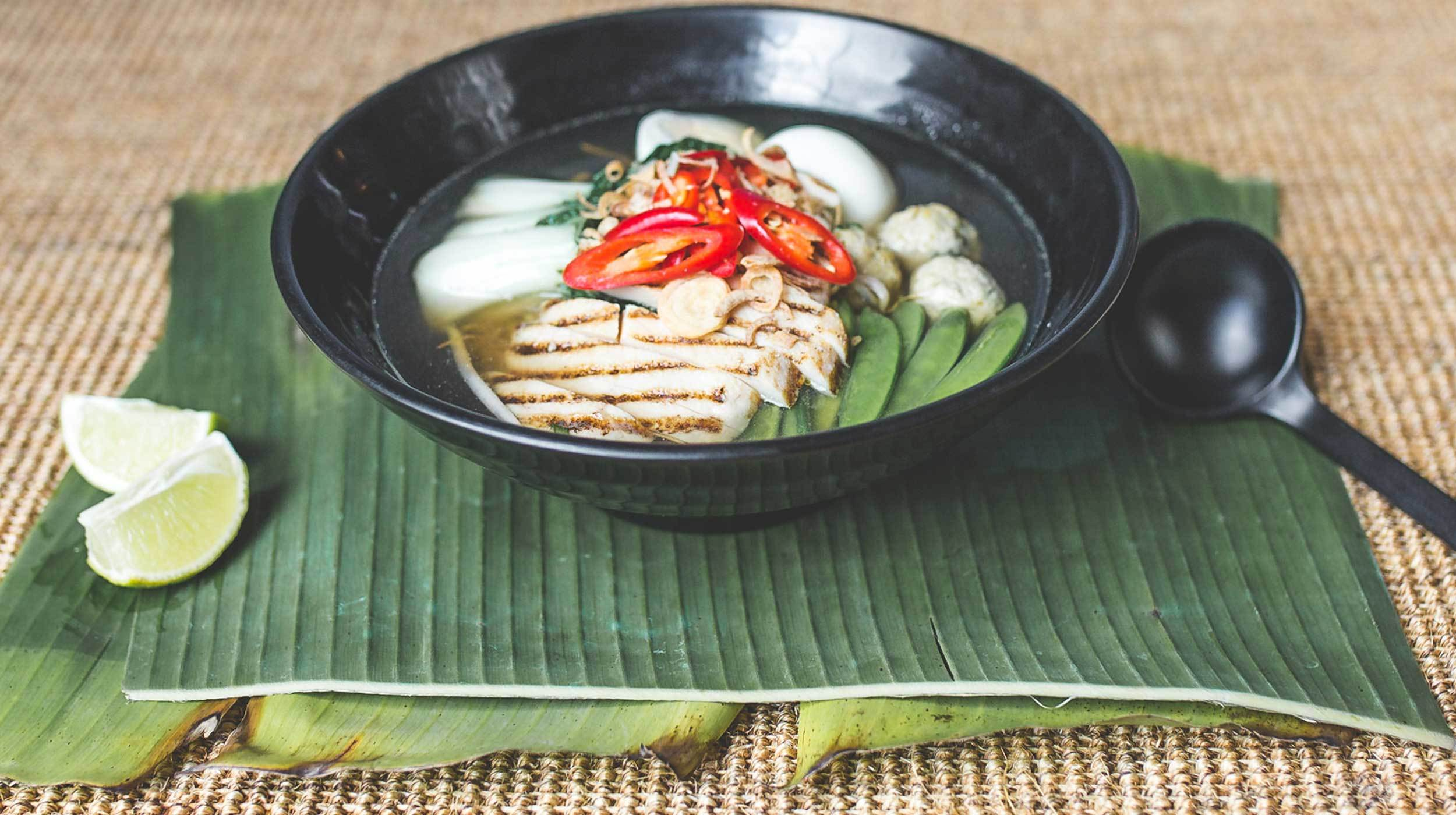 Indulge in traditional Chinese food