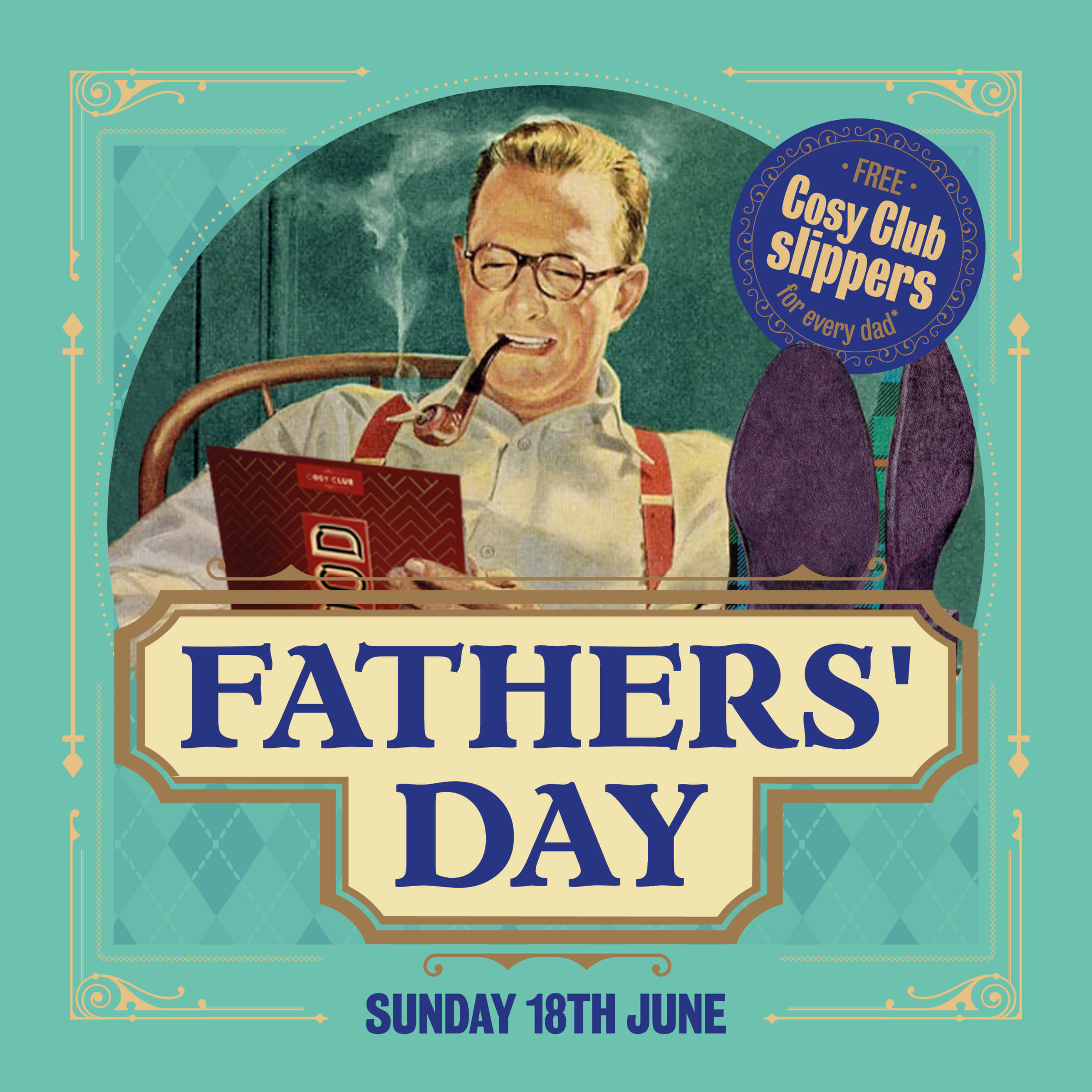Father's Day at Cosy Club