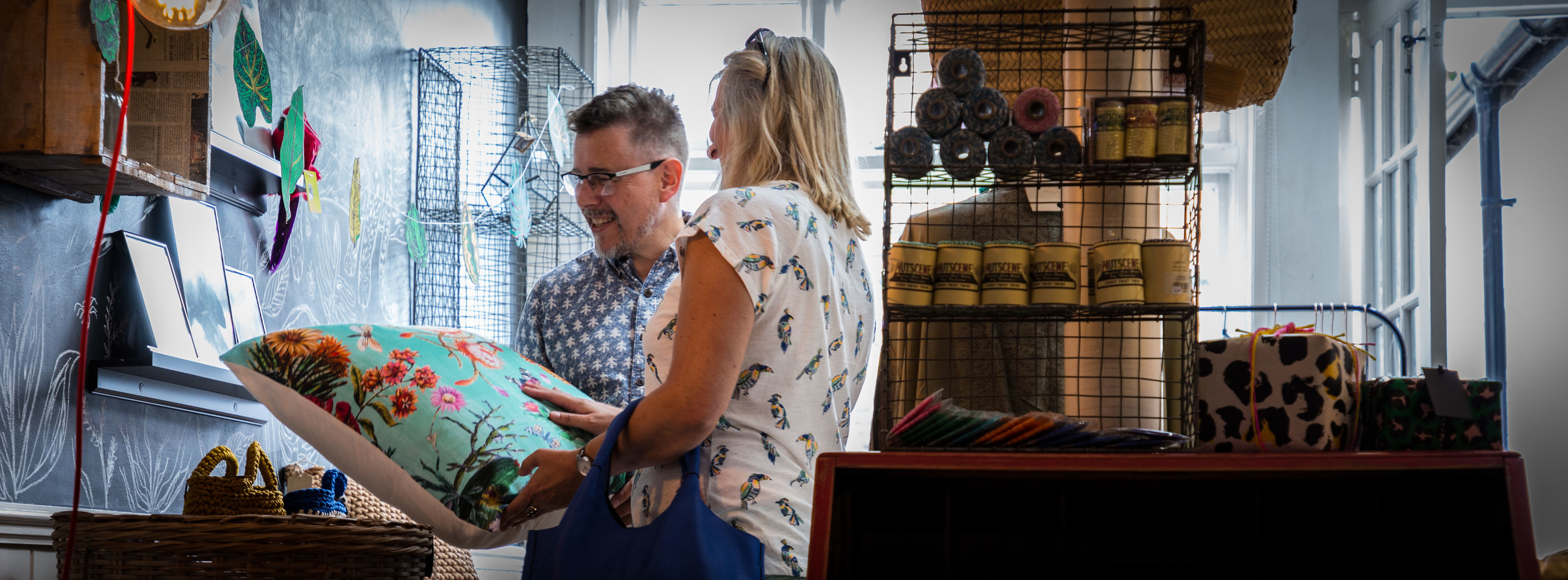 Spend an afternoon exploring the independent shops