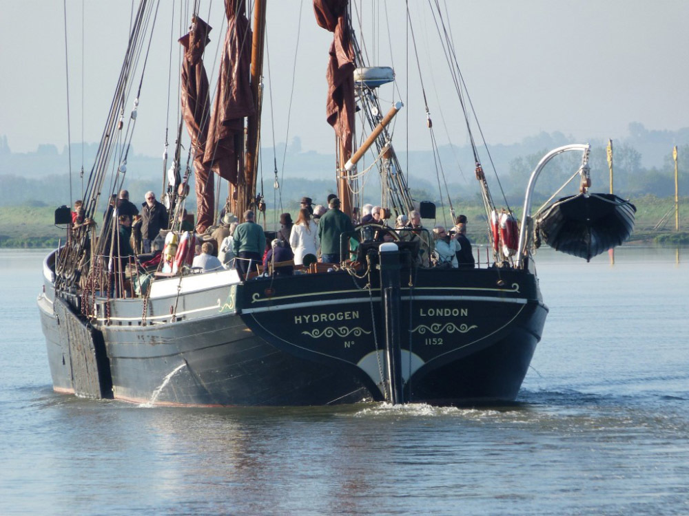 Book a cruise down the River Orwell