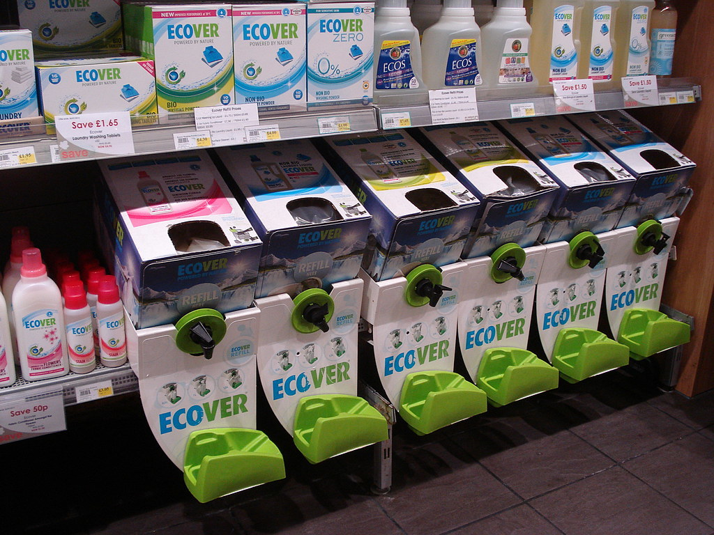 4. Use refill schemes instead of buying new packaging every month