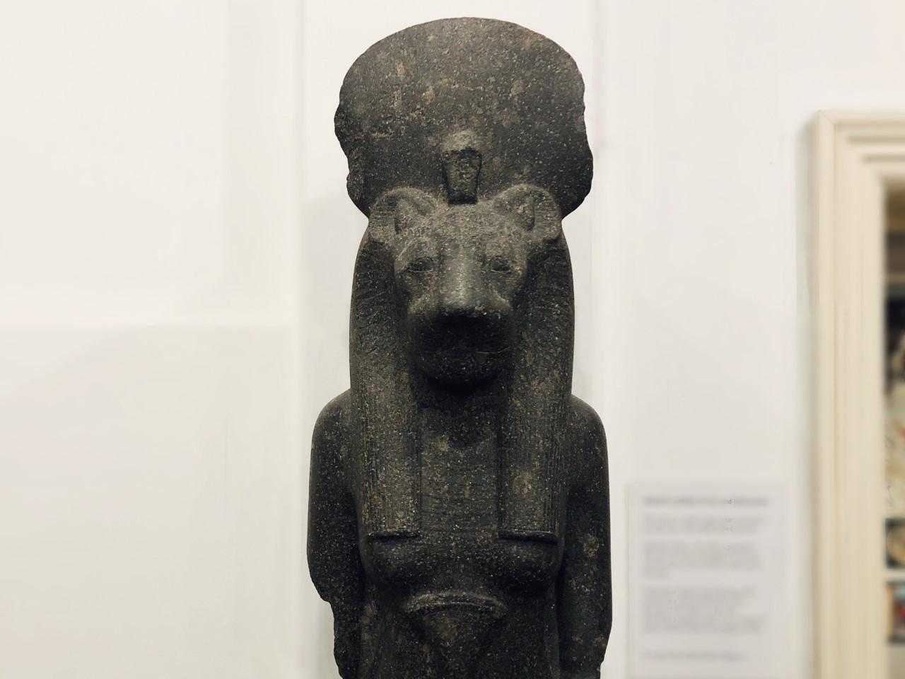 9. Goddess Sekhmet Statue