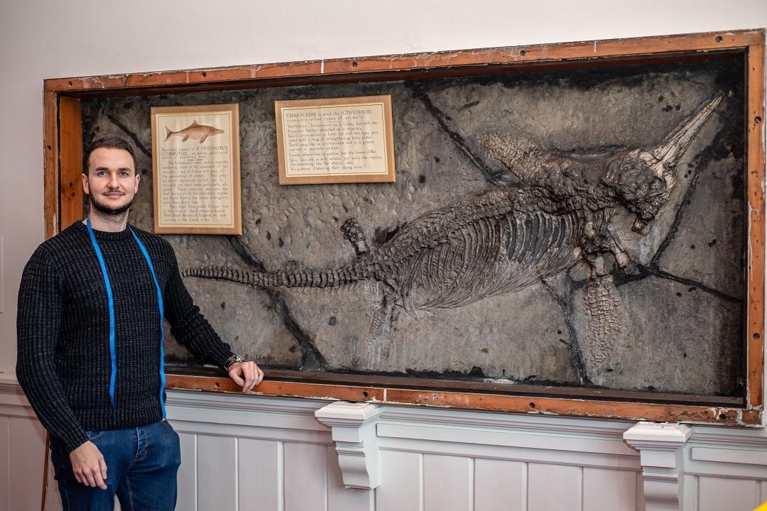 12. Ichthyosaur Skeleton