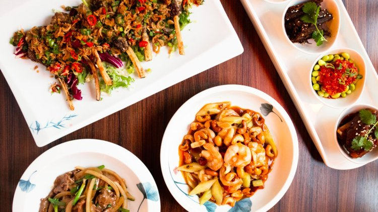 Trongs: traditional Chinese cuisine