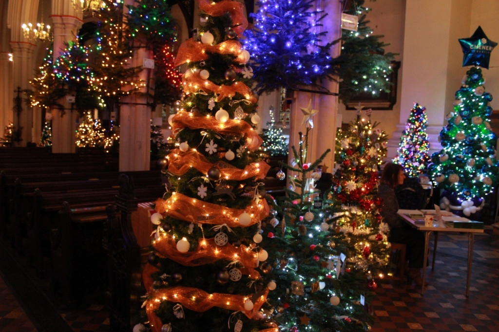 Visit St.Mary-le-Tower Christmas Tree Festival