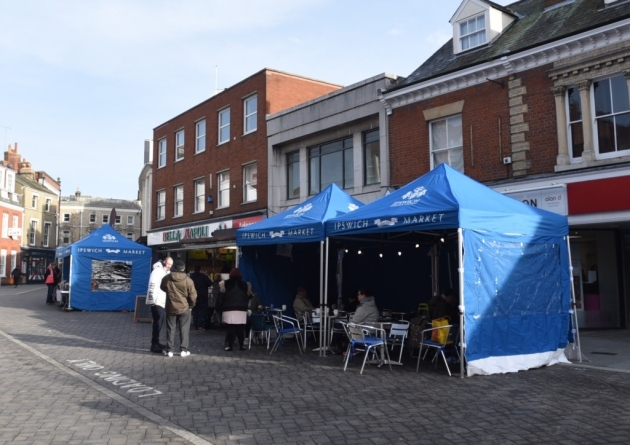 Have lunch from the Ipswich Food Quarter on Queen Street