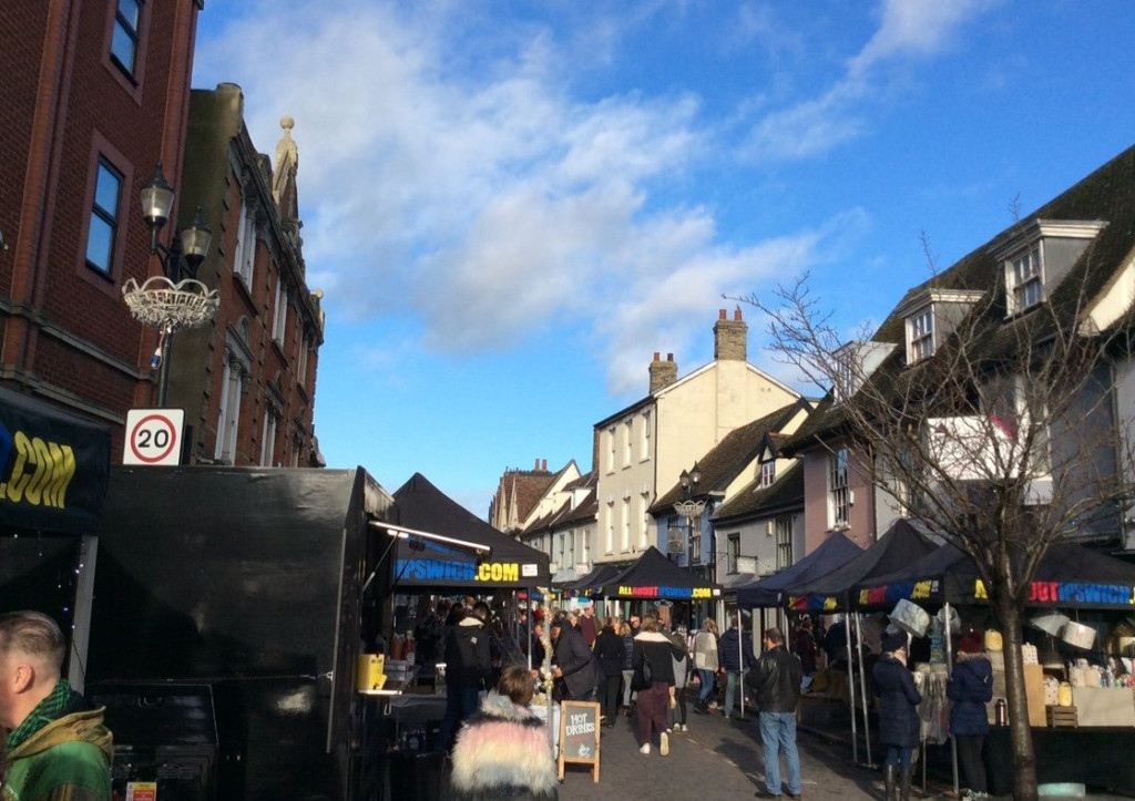 Visit one of The Saints Street Markets on St Peters Street